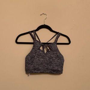Victoria's Secret grey sports bra